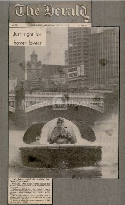 World's first Sports hovercraft photo