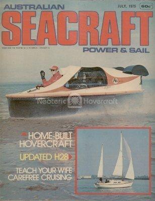 Home built hovercraft Australian Seacraft