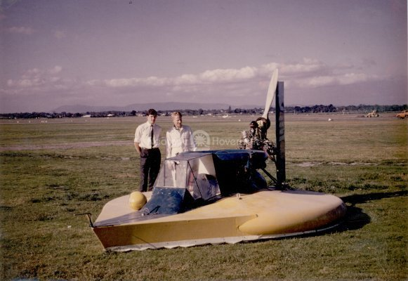 Early Hovercraft Development