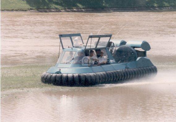 Neova 8 Hovercraft US Coast Guard
