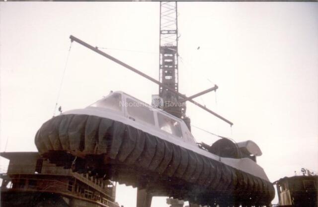 Harbing Shipbuilding Hovercraft inspection