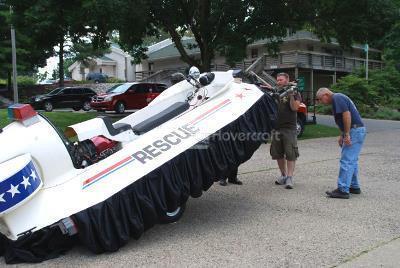 Neoteric Rescue Hovercraft Emergency Management