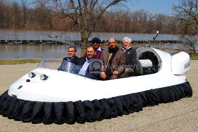Image Flood rescue hovercraft swiftwater rescue Saudi Arabia Ministry of Interior Water rescue vehicles