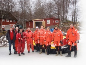 Image hovercraft Swedish Sea Rescue Society