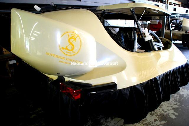 Ukraine Hovercraft Golf cart Neoteric Superior Golf & Spa resort