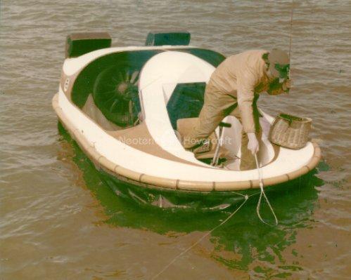 Hovercraft fishing boat Neova 1