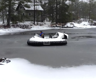 Hovercraft Ice vehicle Ice boat Vehicle for partially frozen water