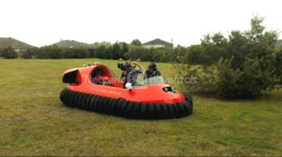 Photo Rescue hovercraft Mud Rescue vehicle Wylie Fire Department Texas hovercraft
