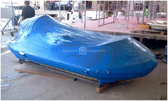 Image hovercraft kit arrival