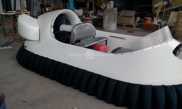 Photo kit built hovercraft