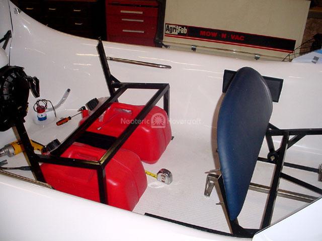rear seat frame