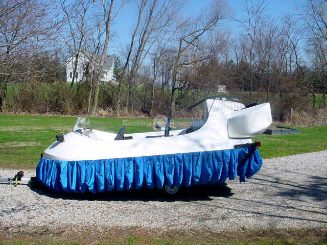 Image kit-built Neoteric personal hovercraft