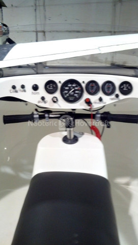 Hovercraft dashboard