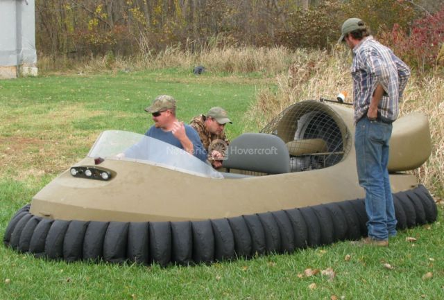 Photo gallery duck hunting hovercraft built from kit