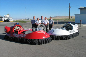 Military Hovercraft: Utah Test and Training Range