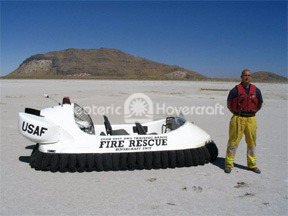 US Air Force hovercraft Hill Air Force Base UTTR