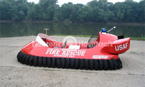 Utah Test and Training Range Rescue Hovercraft