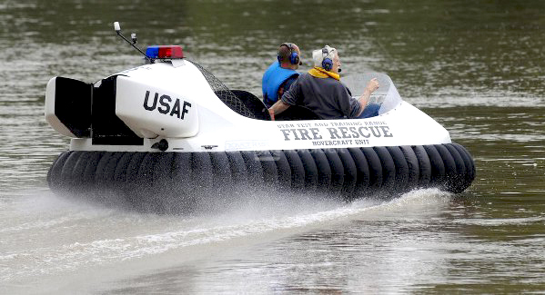 U.S. Air Force Hovercraft Pilot Training: Utah Test & Training Range, Hill Air Force Base