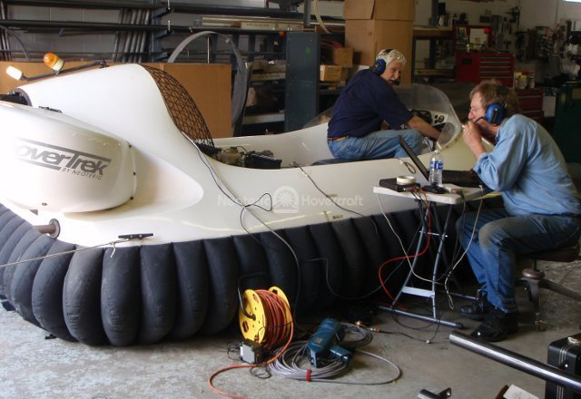 Image Neoteric hovercraft test