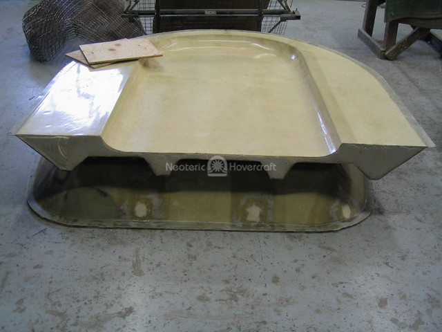 Image Hovercraft hull urethane buoyancy foam