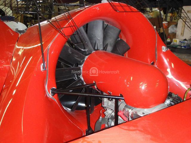 Picture Rescue Hovercraft 12 blade wing fan