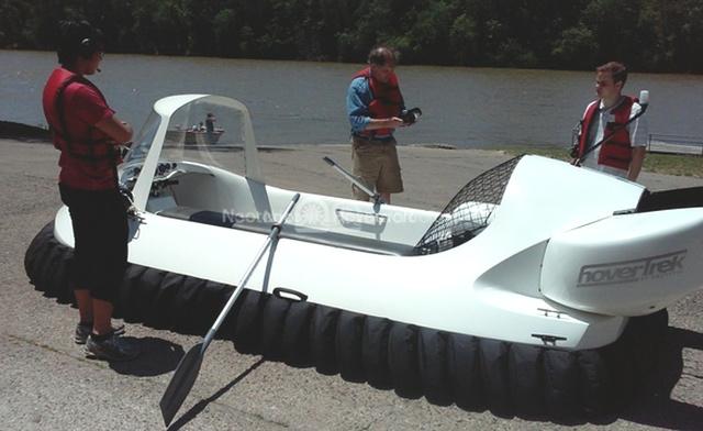 Custom hovercraft image