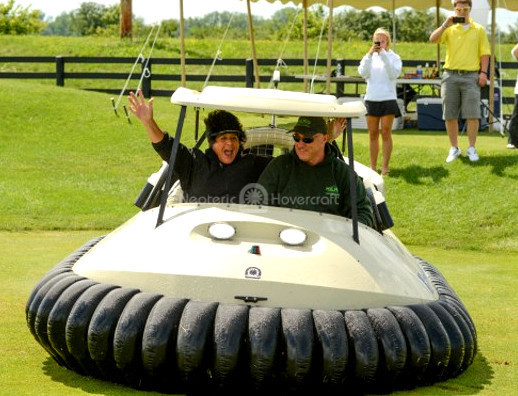 Event planners Rent Bubba's Hover Hovercraft golf cart
