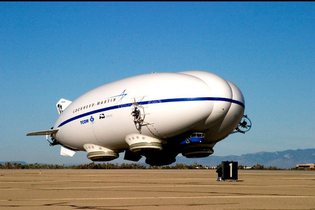 Hybrid Airship Lockheed Martin Skunk Works P-791