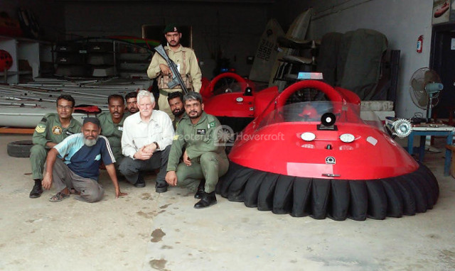 Hovercraft Pakistan Air Force Sea Survival School
