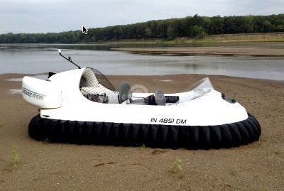 Recreational Hovercraft image Wabash River