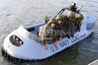 Image Military hovercraft LCAC pilot training