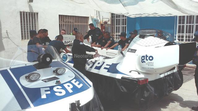 Image Neoteric Hovercraft Mexico Seguridad de Guanajuato