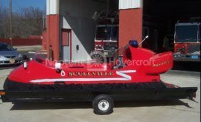 Image Neoteric rescue hovercraft Scullville Volunteer Fire Company
