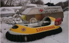 Image Swedish Sea Rescue hovercraft Neoteric