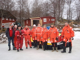 Hovercraft Pilot training Sweden