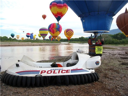 Albuquerque International Balloon Fiesta hovercraft image