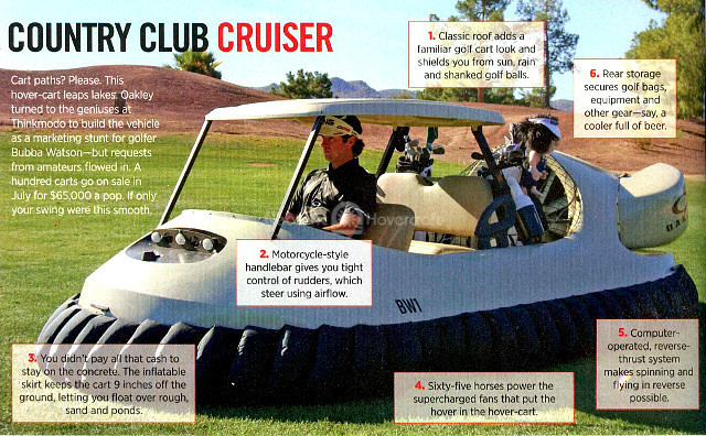 Hovercraft Golf Cart Noble Financial Capital Markets Noble 10