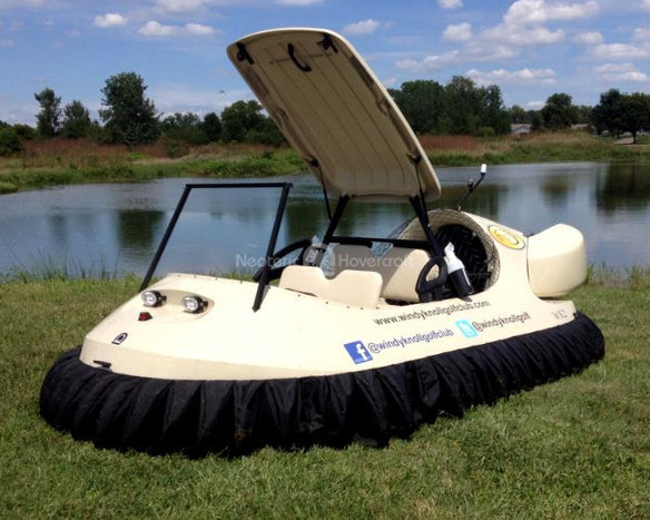 Windy Knoll Neoteric Hovercraft Golf Cart