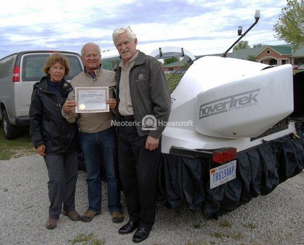 Image Sport hovercraft Sebastian van Berkom
