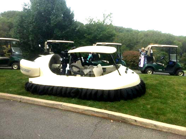 Neoteric Hovercraft Golf Cart picture Bubba's Hover