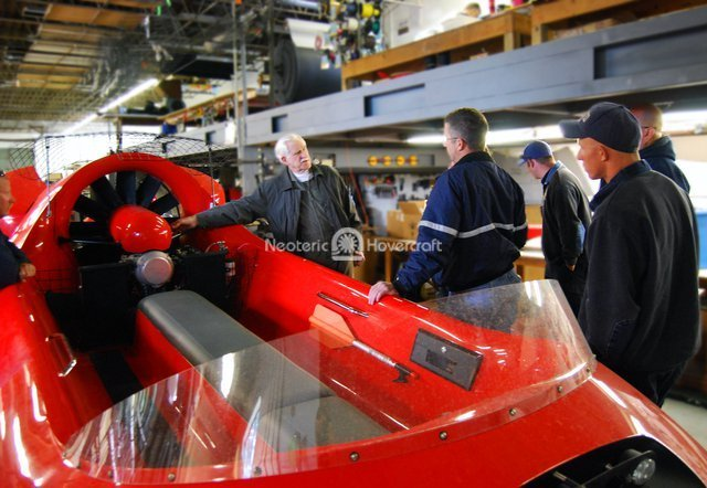 Image Rescue Hovercraft flight training