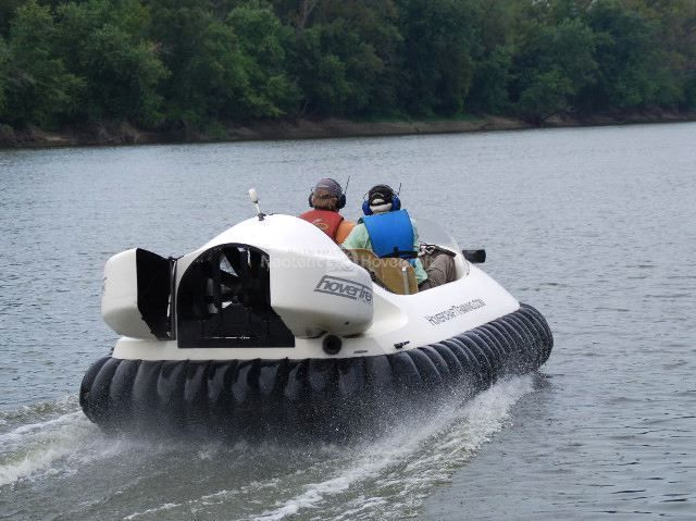 Learn to fly Take a hovercraft ride