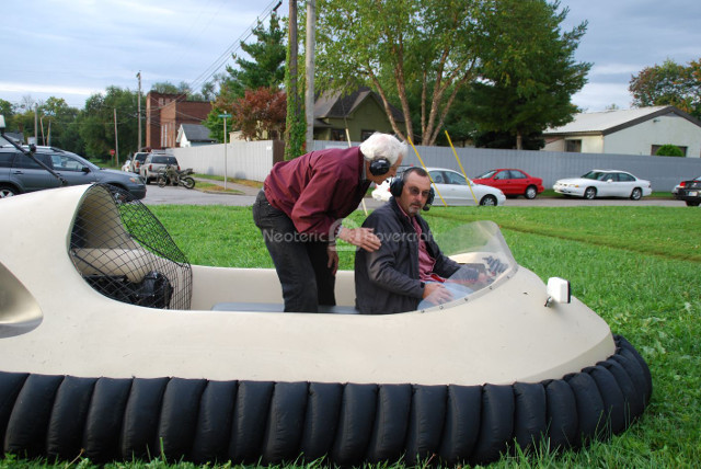 Image Hovercraft test flight Try before you buy