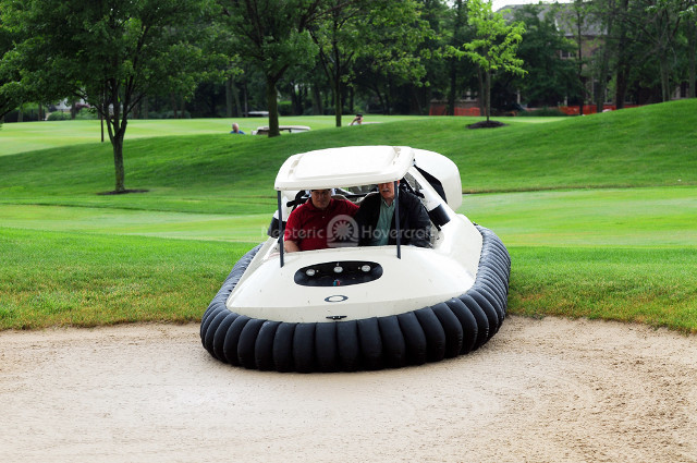 HudsonMOD Neoteric Hovercraft Golf Cart