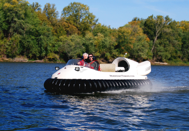 Unique Valentine's Day gift Hovercraft joyride