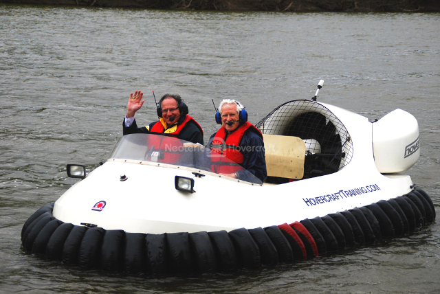 Image flight training Neoteric Hovercraft