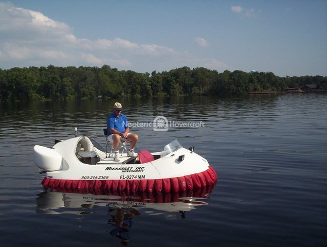 Hovercraft Fishing Platform