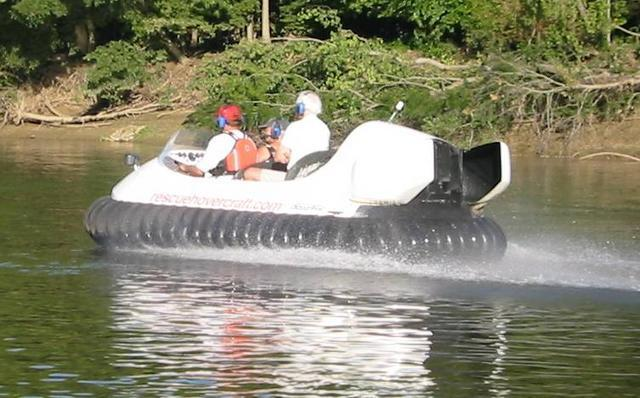 Wabash River Hovercraft Cruise