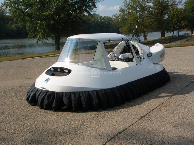 Recreational Hovercraft with Cabin
