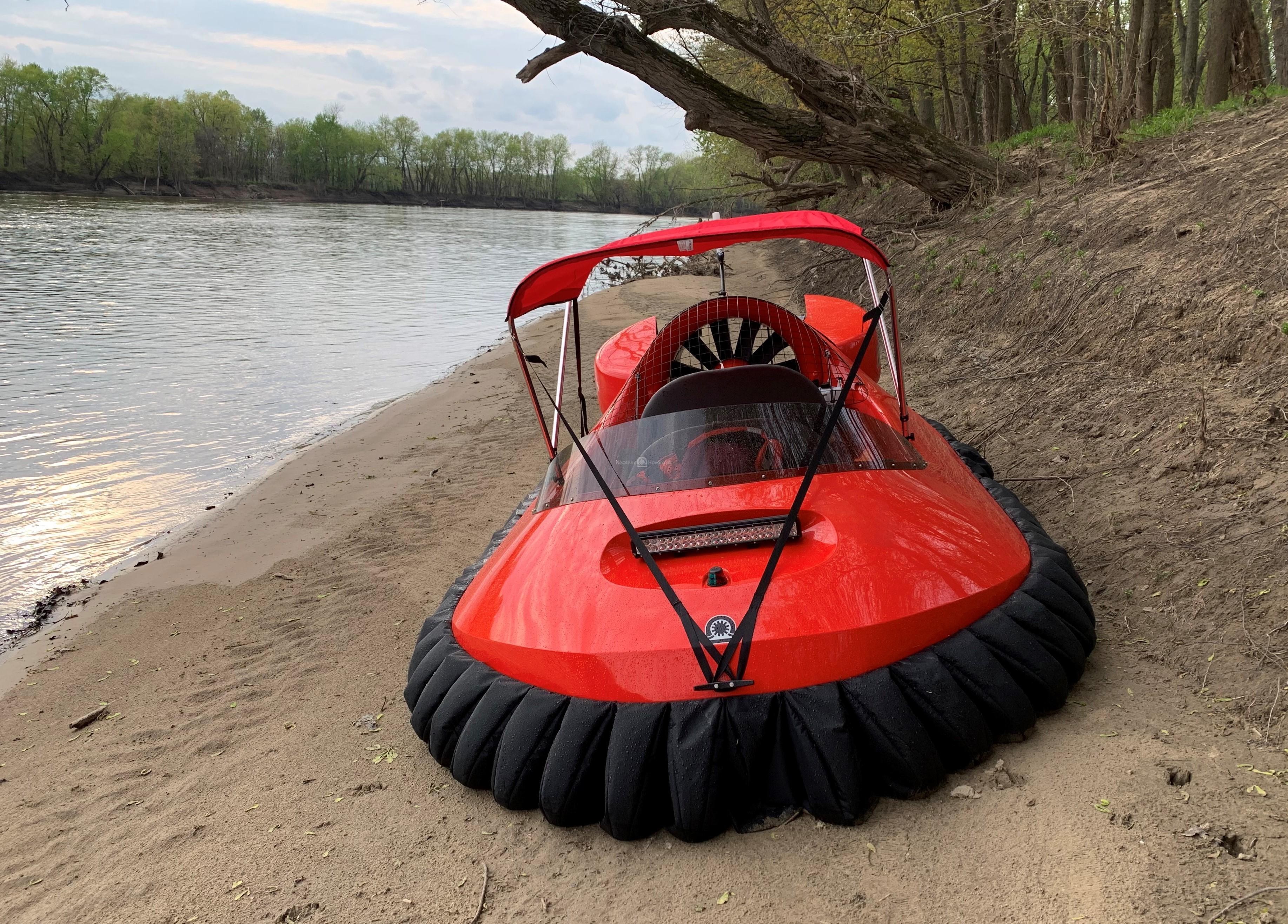 Craft Park on Sand Bank of Wabash River